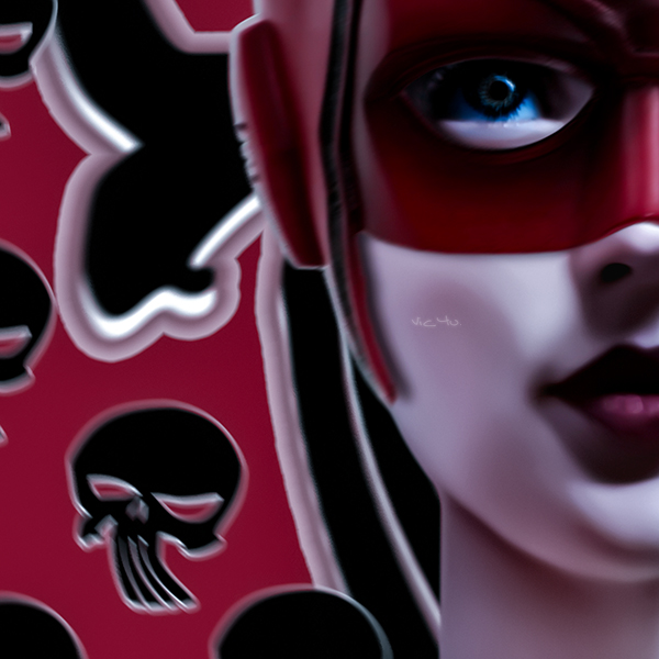 DOLL(s) . DEVIL (detail) by Vic4U