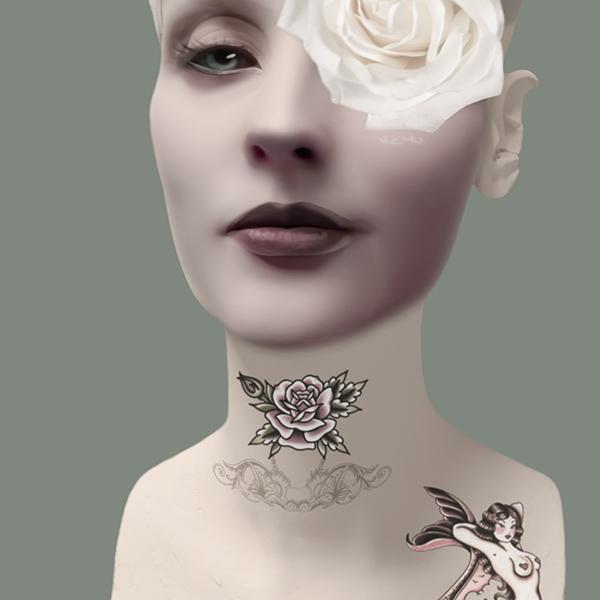 LADY ROSE (detail) by Vic4U
