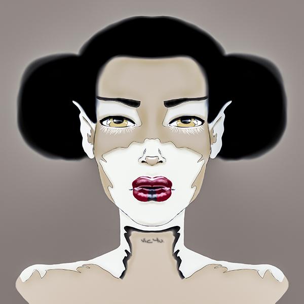 Graffiti Girl . CREATE by Vic4U