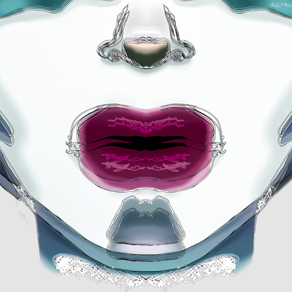 UNIVERSE BREATH (detail) by Vic4U