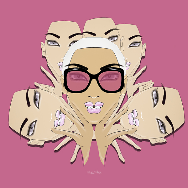 GIRLZ Pink by Vic4U
