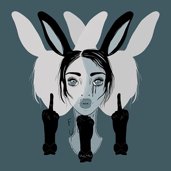Follow the Rabbit by Vic4U