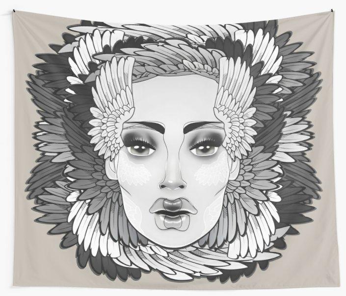 Tapestry,940x-bg,f8f8f8-c,110,110,705,602.2u1 by Vic4U