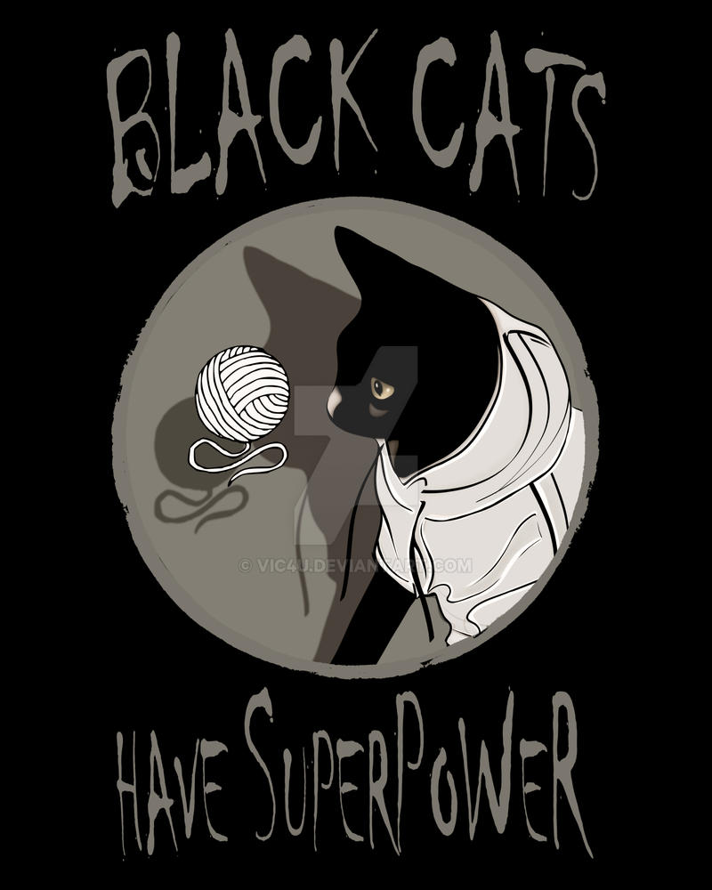 BLACK CATS POWER! by Vic4U