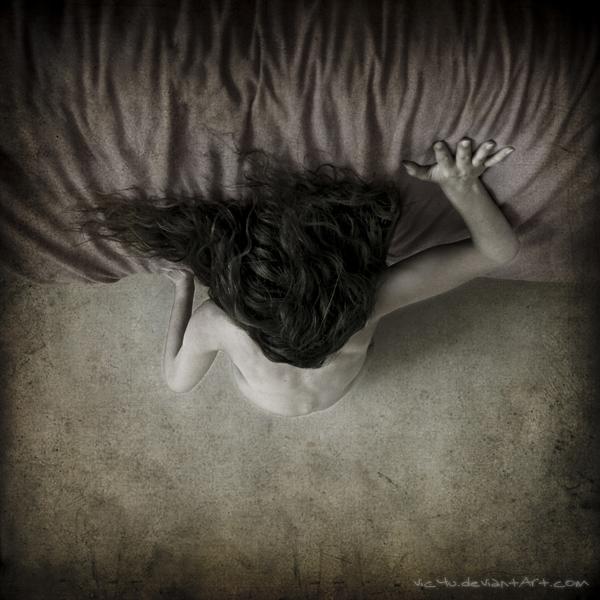 Swan's fall by Vic4U