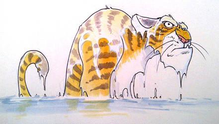 Wet Tiger