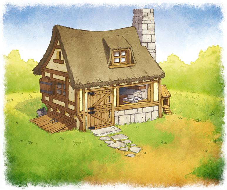 La poubelle de dav la petite maison dans la prairie for Les decores des maisons
