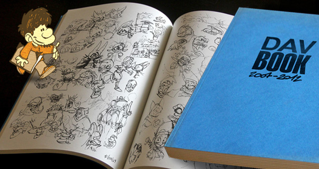My sketchbook by poubelle-de-dav
