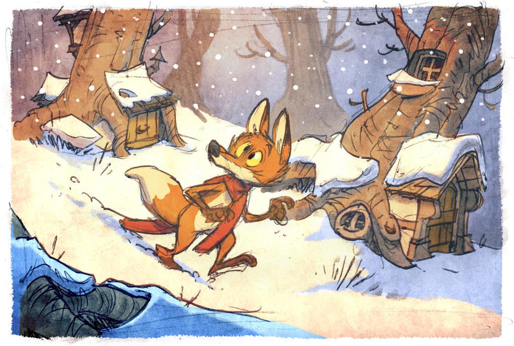 Let it snow, let it snow by poubelle-de-dav