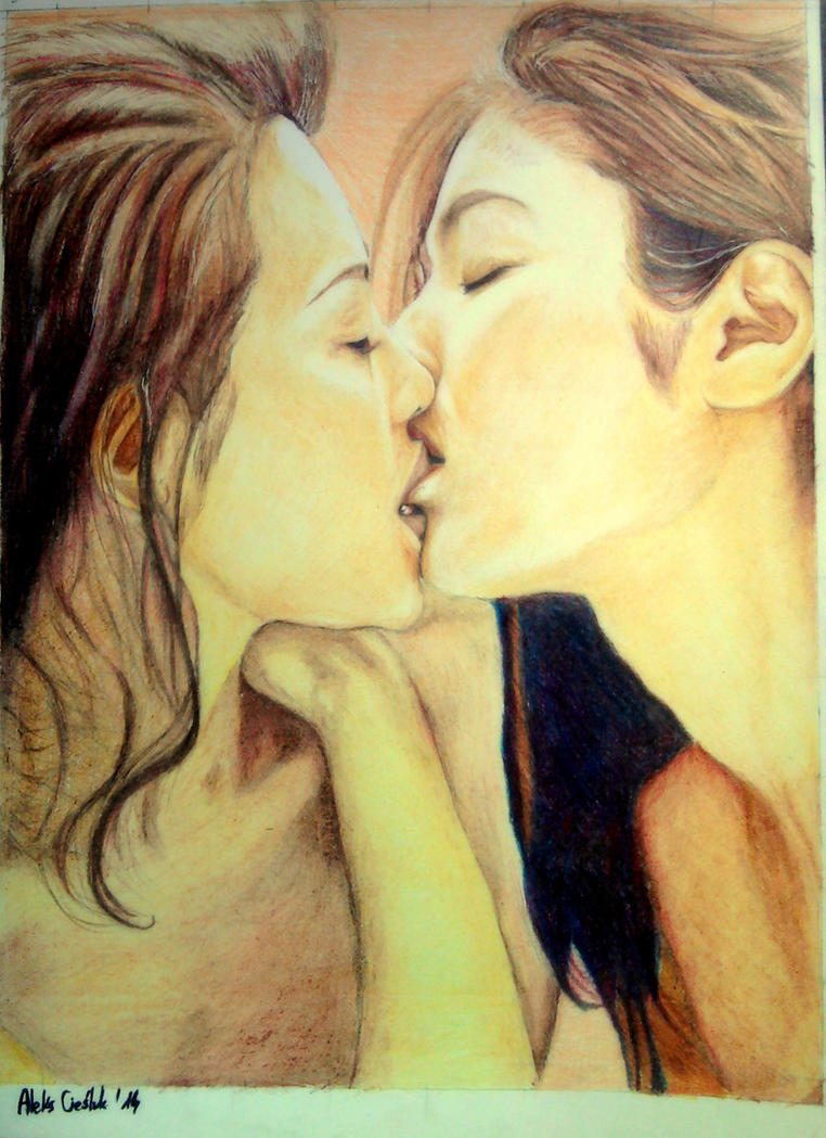 Asian Lesbian Kissing Video 33