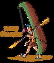 Kayak dude by Seikame