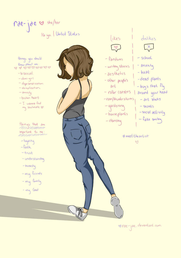 Meet the artist by rae-jae