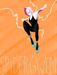 Spider-Gwen by rae-jae