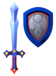 Magical Sword and Shield