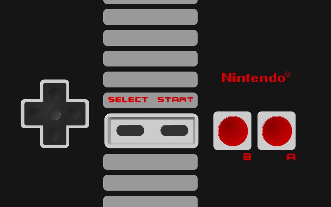 NES Controller Wallpap...