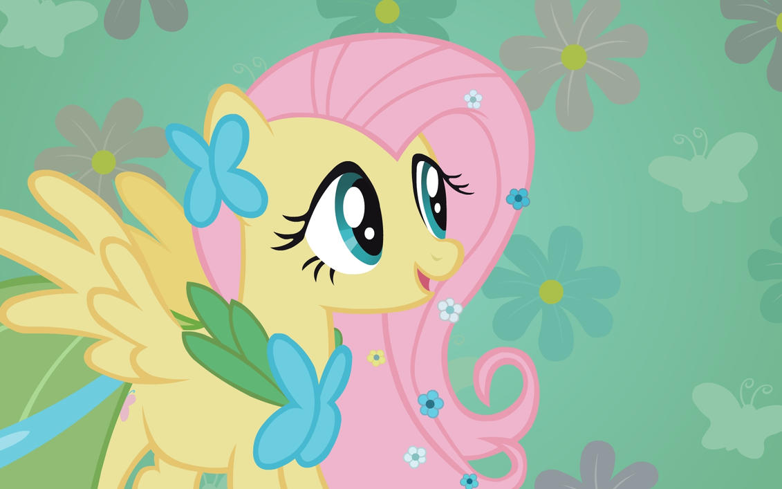 "Fluttershy ""To Meet"" Wallpaper by Doctor-G"