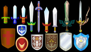 Zelda Swords and Shields 4
