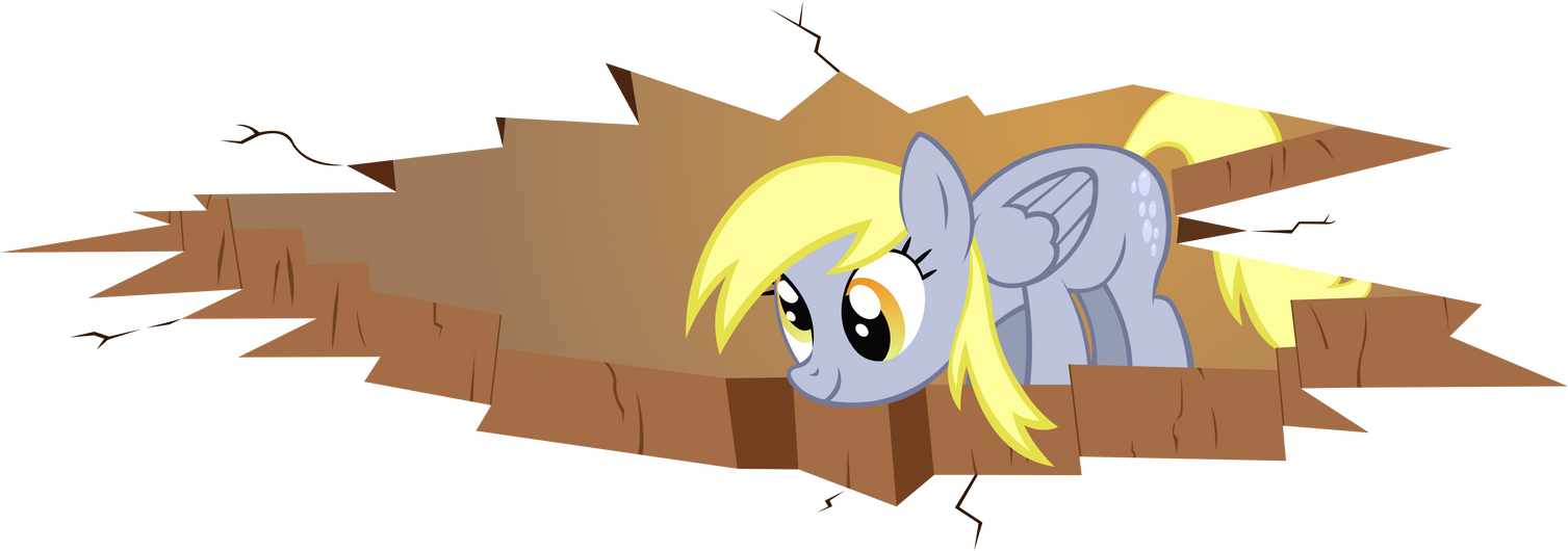 Ceiling Derpy by Doctor-G