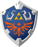 Skyward Hylian Shield by Doctor-G