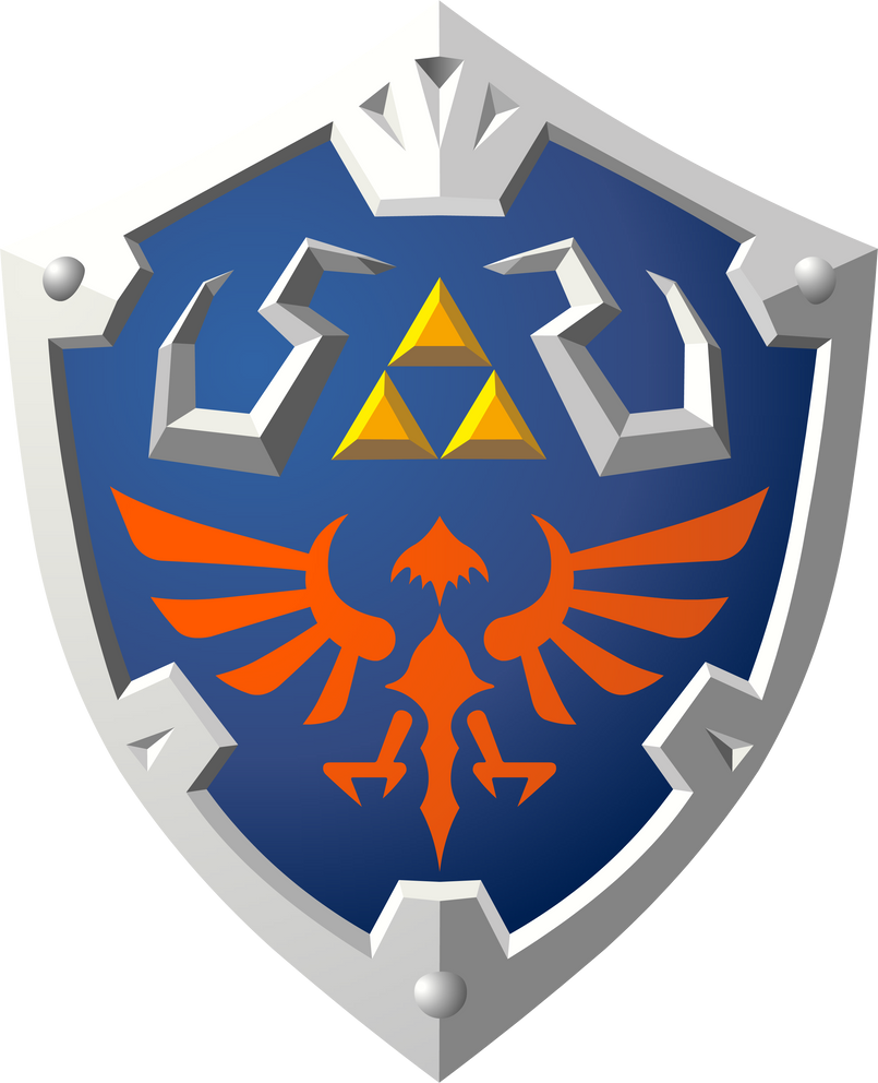 Skyward Hylian Shield by Doctor-G