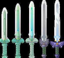 Skyward Swords by Doctor-G