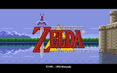 A Link to the Past Title Screen by Doctor-G