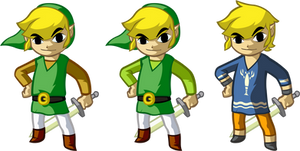 Link's Wardrobe - Wind Waker