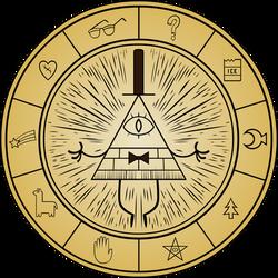 Gravity Falls - Bill Cipher Wheel