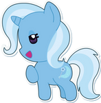 The Great and Adorable Chibi Trixie