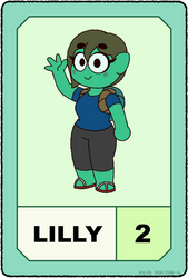Lilly's POW Card