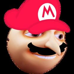 A GRUvy Mario by KonataCha