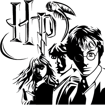 Harry Potter Stylization by RavenousWaffle on DeviantArt