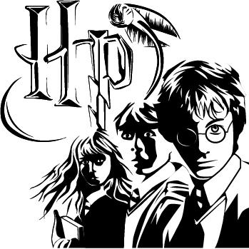 Harry Potter Stylization by RavenousWaffle on DeviantArt