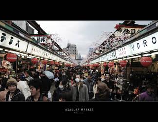 Asakusa Market by evan-williams