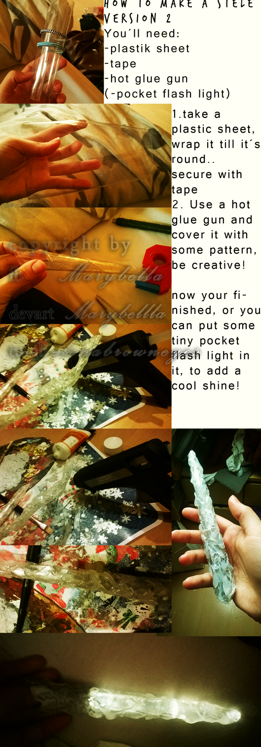 How to make a Shadowhunter Stele version 2 by Marybellla