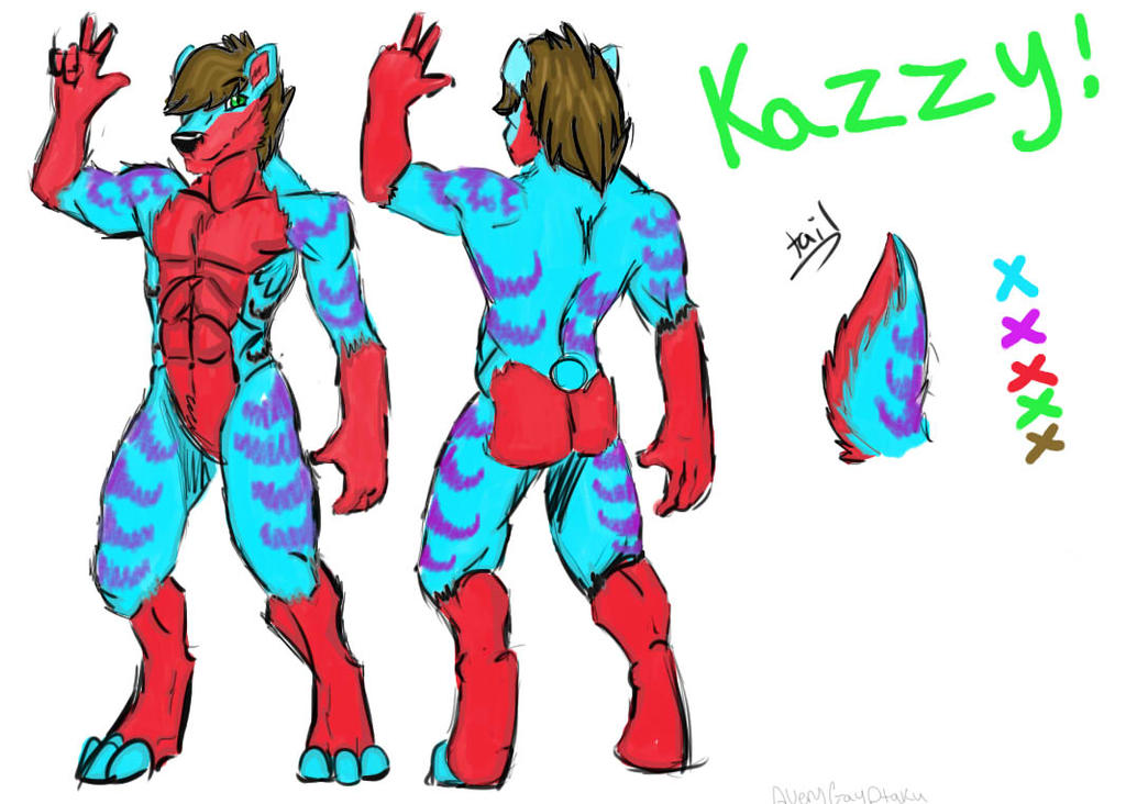 Reference Sheet Commission for Kazzy! by AshleyBinx