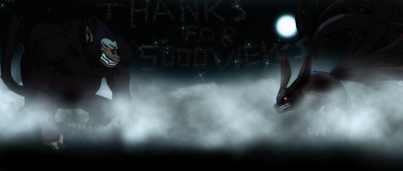 kurama naruto vs goku oozaru db spacebattles forums
