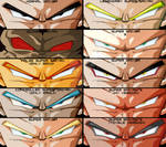 Dragon Ball Eyes : Saiyans
