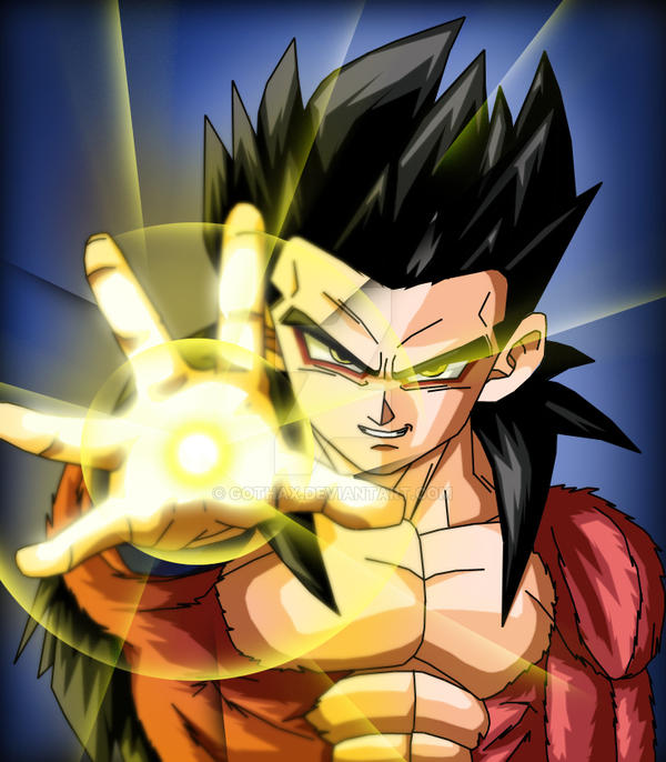 Son Gohan SSJ4 By Gothax On DeviantArt