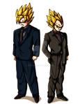 Saiyans in Suits
