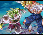 Vegetto VS Brolly V2