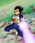 Vegeta on Namek