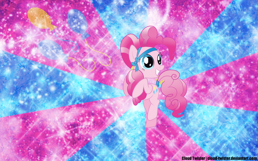Crystal Pinkie Pie Wallpaper by Cloud-Twister