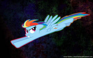 Rainbow Dash Wallpaper by Cloud-Twister