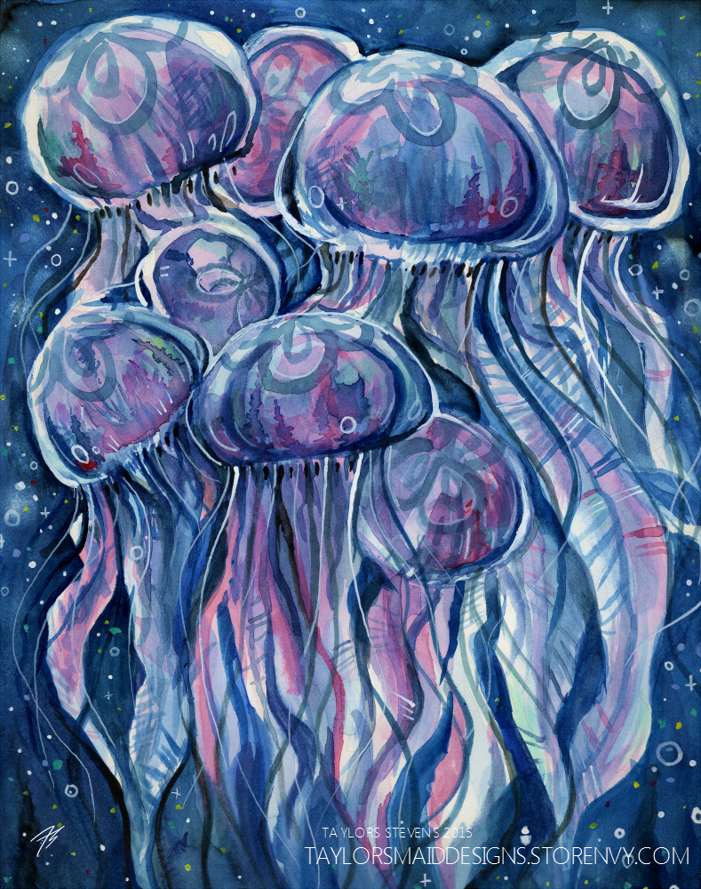 Jellyfish Souls by TaylorsMaid