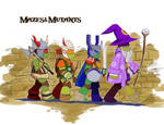 the Mazes and Mutants games