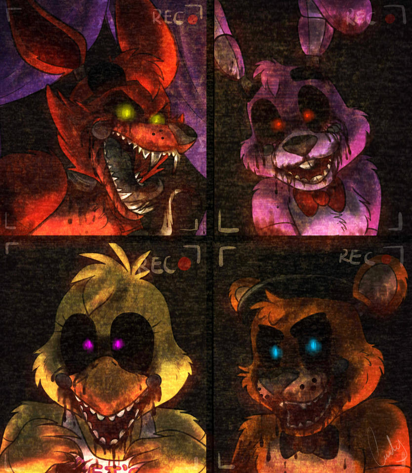 Five nights at freddys by atachi00 on deviantart