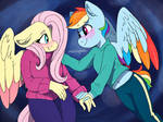 transboy rainbow and flutters
