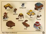 Game buildings: sample