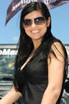 Dark Girl in Sunglasses by nicubunu